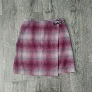 Plaid Ann Taylor Skirt